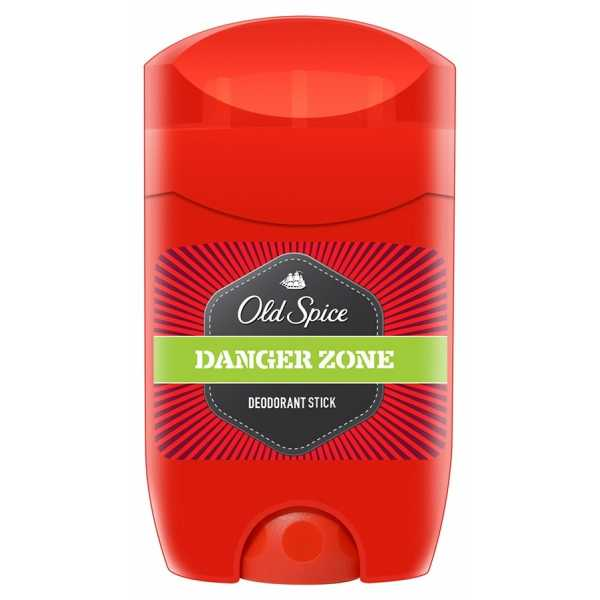 Твёрдый дезодорант Old Spice Danger Zone, 50 мл