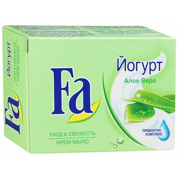 "Крем-мыло Fa Yoghurt ""Алоэ Вера"", 90 гр"