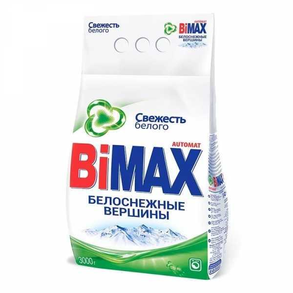"""Стиральный порошок Bimax """"Белоснежные вершины"""", автомат, 3 кг"""
