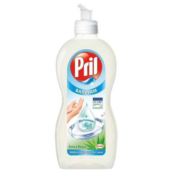 "Средство для мытья посуды Pril Бальзам ""Алоэ Вера"", 450 мл"