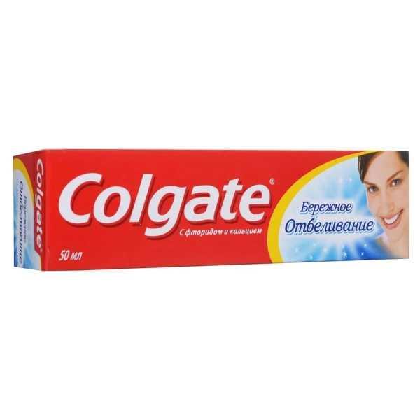 """Зубная паста Colgate """"Бережное отбеливание"""", 50 мл"""