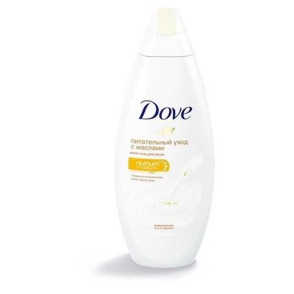 Крем-гель для душа Dove с драгоценными маслами, 250 мл