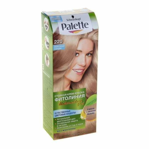 """Краска для волос Palette Фитолиния 220 """"Жемчужный блондин"""", 50 мл"""