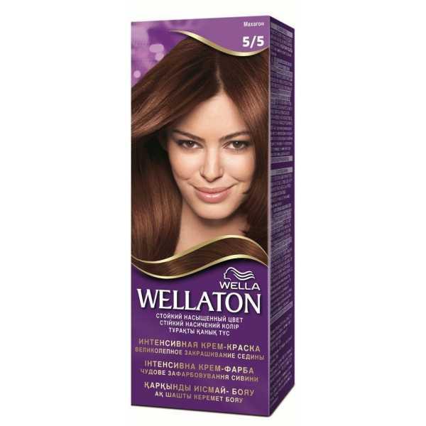 "Краска для волос Wellaton 5/5 ""Махагон"""