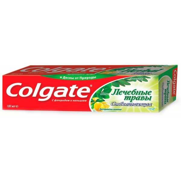 """Зубная паста Colgate """"Лечебные травы, отбеливающая"""", 100 мл"""