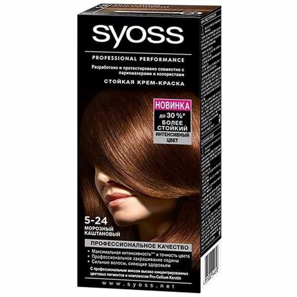 """Краска для волос Syoss Color 5-24 """"Морозный каштановый"""", 115 мл"""