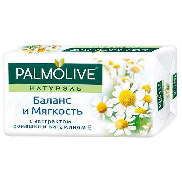 """Мыло туалетное Palmolive Натурэль """"Баланс и Мягкость"""" с экстрактом ромашки и витамином Е, 90 гр"""