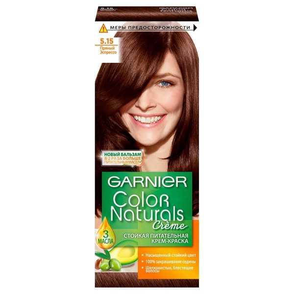 """Краска для волос Garnier Color Naturals 5.15  """"Пряный эспрессо"""""""
