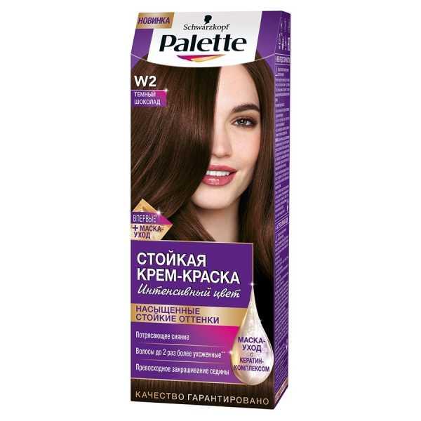 """Краска для волос Palette W2 """"Темный шоколад"""", 50 мл"""