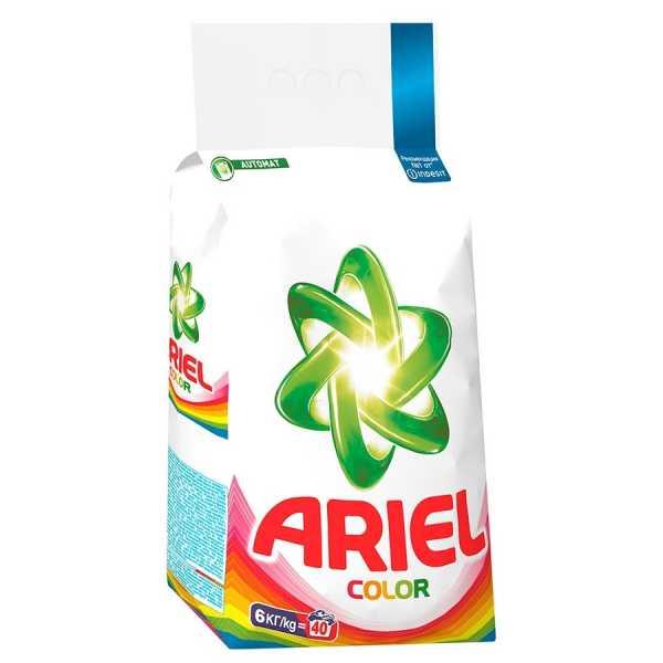 Стиральный порошок Ariel Color, автомат, 6 кг
