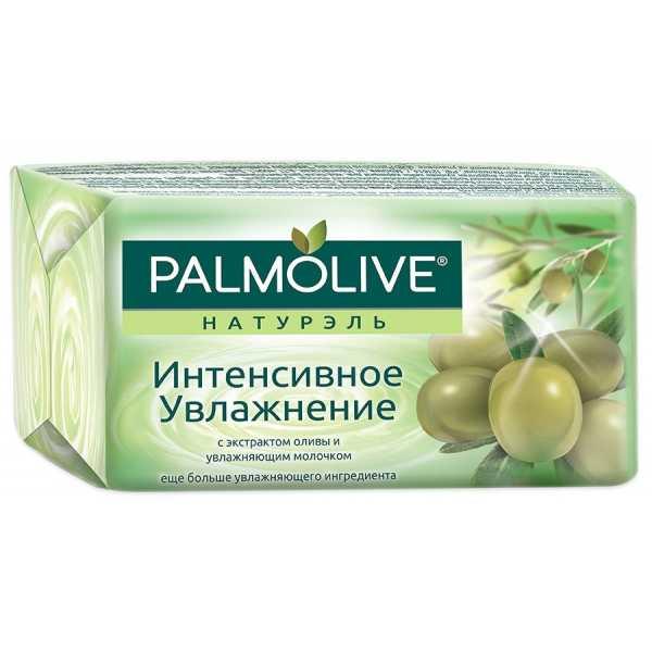 """Мыло туалетное Palmolive Натурэль """"Интенсивное увлажнение"""" с экстрактом оливы и увлажняющим молочком, 90 гр"""