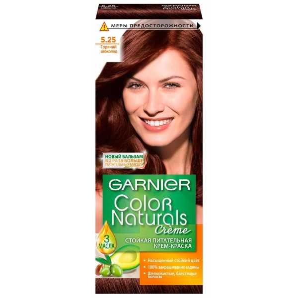 """Краска для волос Garnier Color Naturals 5.25 """"Горячий шоколад"""""""
