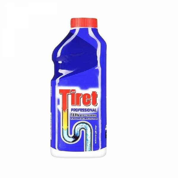 Tiret гель Professional, для удаления и профилактики засоров, 1 л