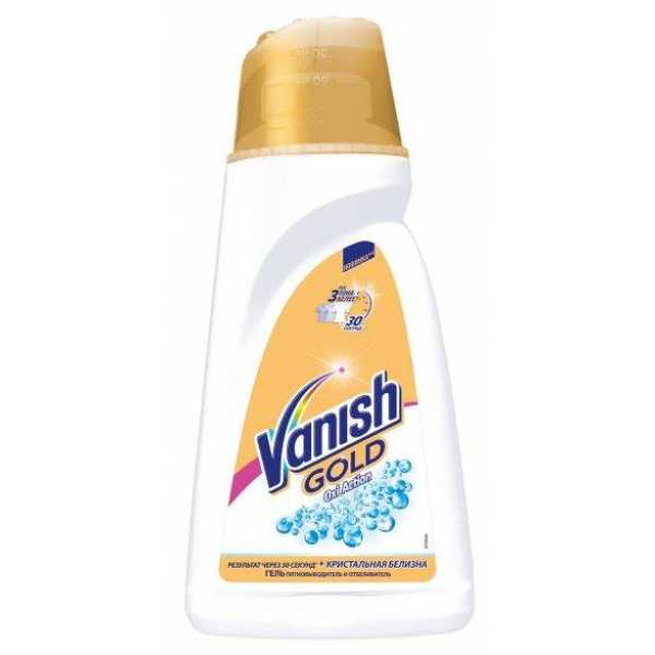 VANISH GOLD Oxi Action для БЕЛОГО белья 1л