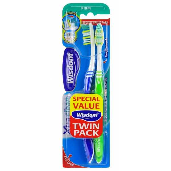 Зубная щетка Wisdom Xtra Clean Twin Firm